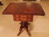 Fully Restored Victorian Mahogany Worktable